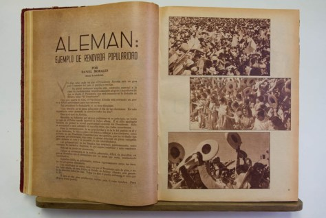 Revista Mañana, 1951.