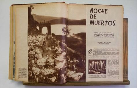 Nacho López, revista Mañana, 1950. Foto-ensayo