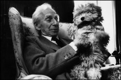 British mathematician and philosopher Bertrand RUSSELL. 1962.