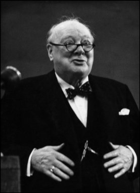 GB. ENGLAND. Lancashire. Blackpool. Mr. Winston CHURCHILL. 1954.