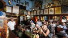 Tourists fill the famous La Bodeguita del Medio bar where U.S. author Ernest Hemingway used to drink in Old Havana.