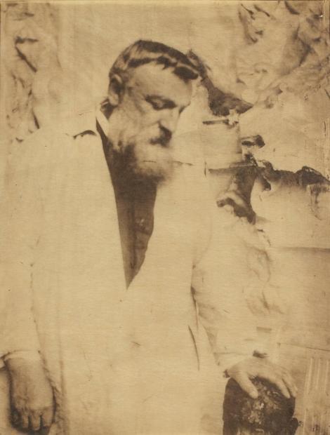 Gertrude Käsebier. Auguste Rodin.