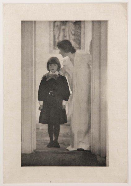 "Gertrude Käsebier. ""Blessed are thou among women."" 1899 (impresión de 1903)"