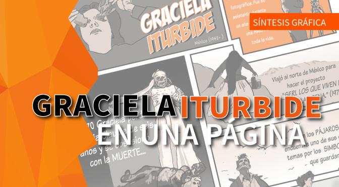 Graciela Iturbide en una página