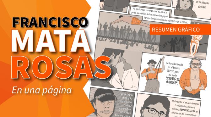 Francisco Mata Rosas, en una página