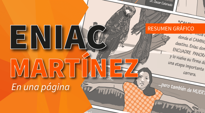 Eniac Martínez en una página