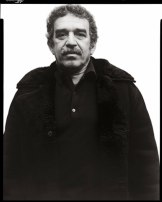 Richard Avedon Gabriel Garcia Marquez writer New York January 7 1976