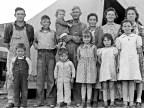 Family originally from Mangrum, Oklahoma in FSA migratory labor camp, Brawley, Imperial Valley, 1939. Dorothea Lange