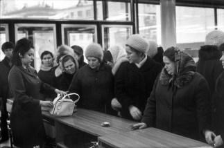 El Arbat, Moscú 1972 Henri Cartier Bresson