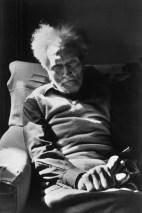 1971 Ezra Pound, Venecia. Henri Cartier Bresson