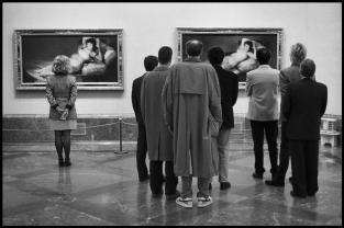SPAIN. Madrid. 1995. Prado Museum.Elliott Erwitt
