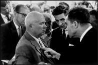 USSR. Moscow. 1959. Nikita KHRUSHCHEV and Richard NIXON.Elliott Erwitt
