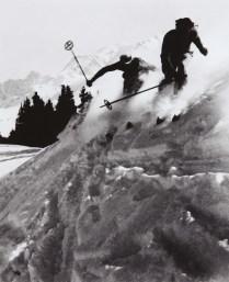 Skieurs à Megève, 1938