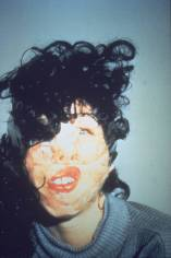 Confess All On Video. Don't Worry You Will Be in Disguise. Intrigued? Call Gillian Version II 1994 by Gillian Wearing OBE born 1963