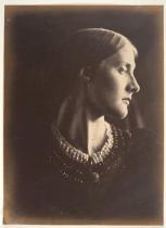 """Julia Margaret Cameron. """"Mrs. Herbert Duckson"""" (Retrato, 1865)"""