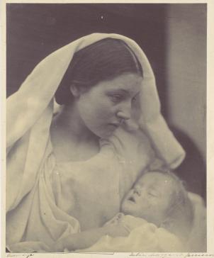 "Julia Margaret Cameron. ""La Madonna Riposata"" (1865)"