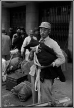 CHINA. Jiangsu. Nankin. Abril 1949. Refugiados.