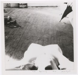 Francesca Woodman, Angel series, Providence, Rhode Island, 1976