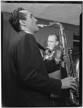 Bill Harries y Charlie Ventura