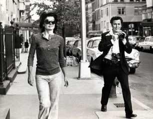 Jackie Kennedy perseguida por Ron Galella