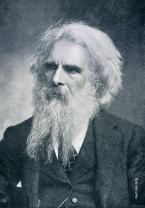 A photograph of Eadweard Muybridge, found on nucius.org