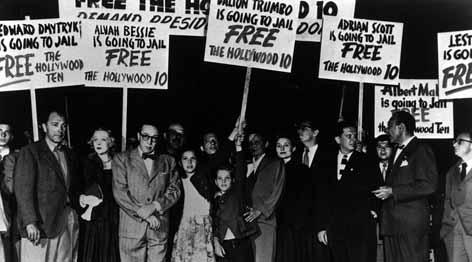 El Comité de la Primera Enmienda en plena protesta