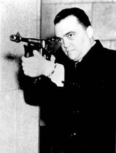 """J. Edgar Hoover en """"acción"""". Sobran las palabras..."""