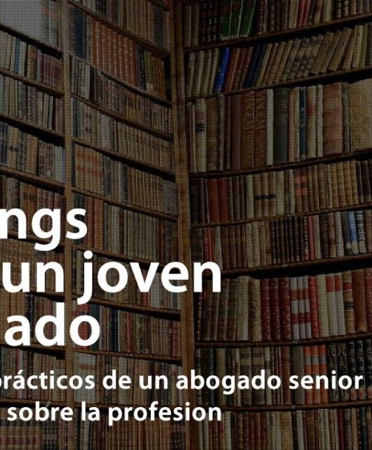 Óscar León: Nuevo libro - Mailings para un joven abogado Consejos prácticos de un abogado senior a un junior sobre la profesion
