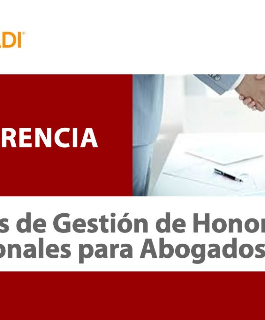 "Óscar León: Conferencia ""Técnicas de Gestión de Honorarios Profesionales para Abogados"""