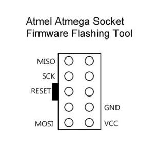 Flash Blue Series 12A ESC SimonK Arduino ATMega Tool