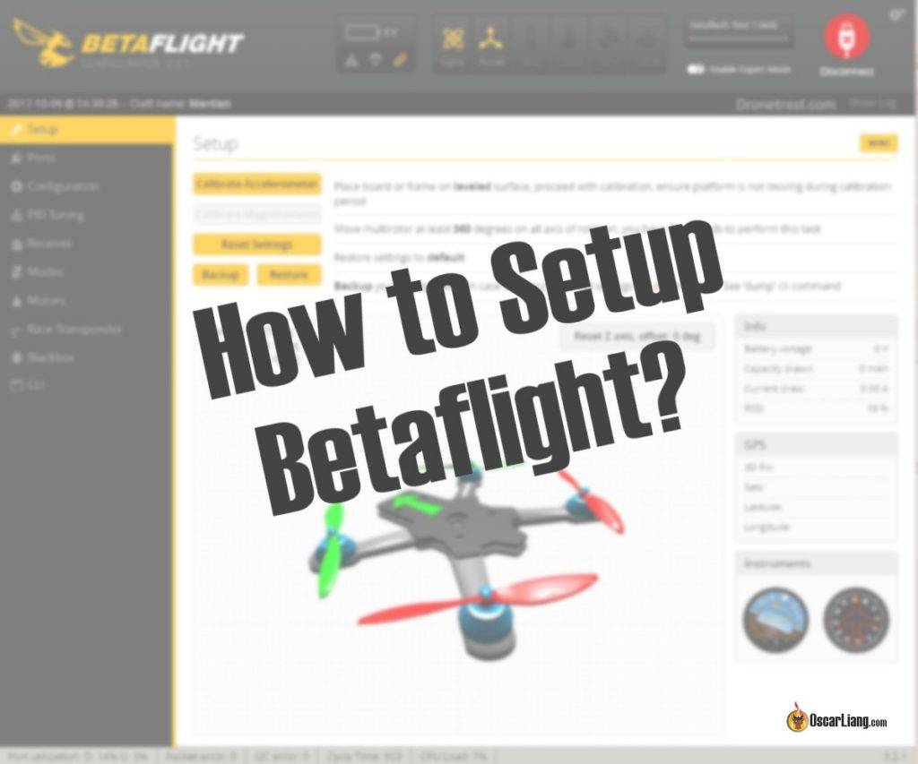 hight resolution of how to setup betaflight firmware