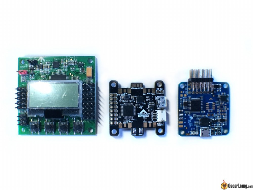 medium resolution of kombini flight controller size comparison naze32 kk2