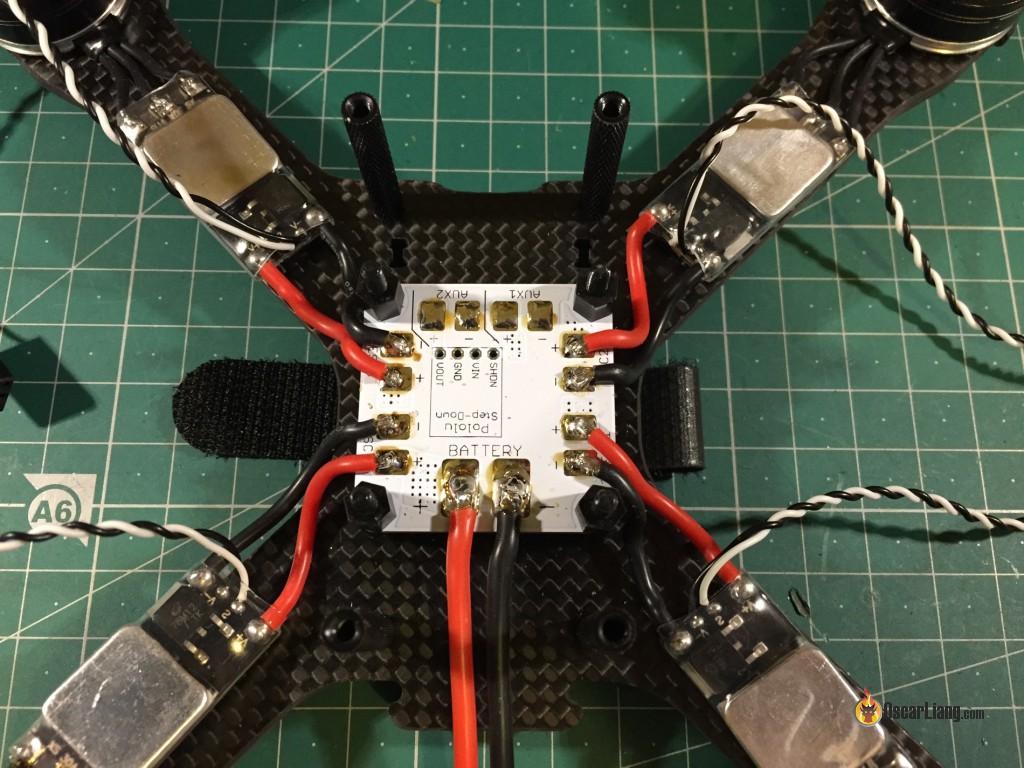 hight resolution of qav x mini quad frame build soldering esc on pdb