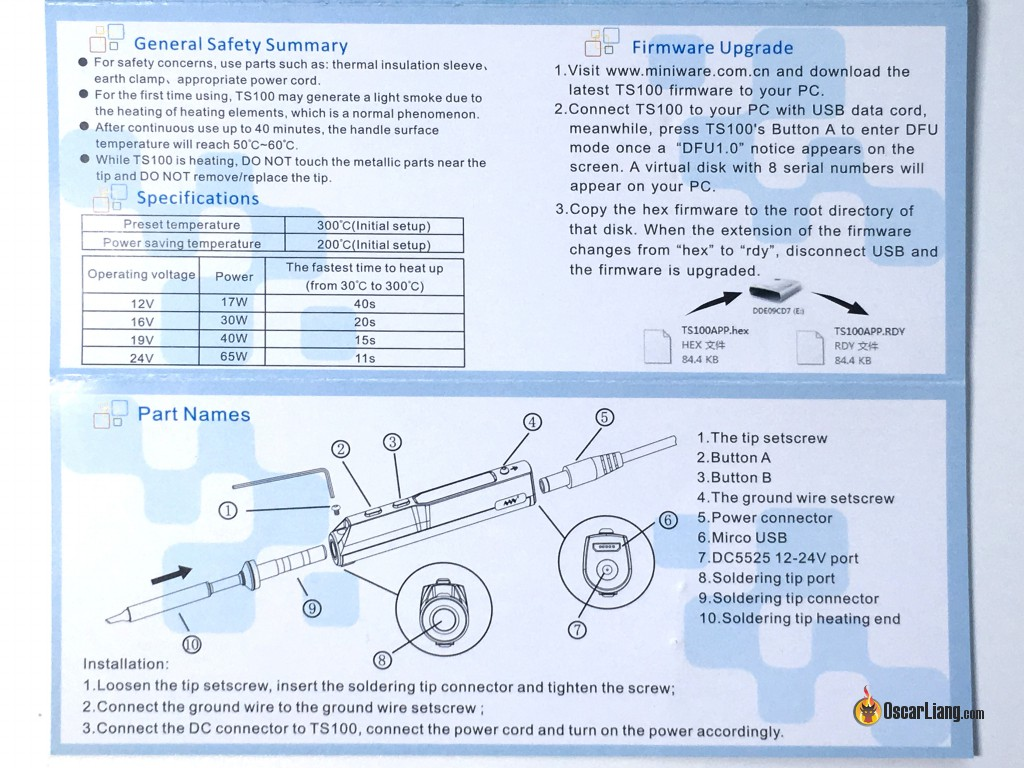 hight resolution of review ts100 soldering iron best portable field repairing tool ts100 wiring diagram