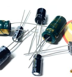 capacitors for noise filtering in mini quad [ 1024 x 768 Pixel ]