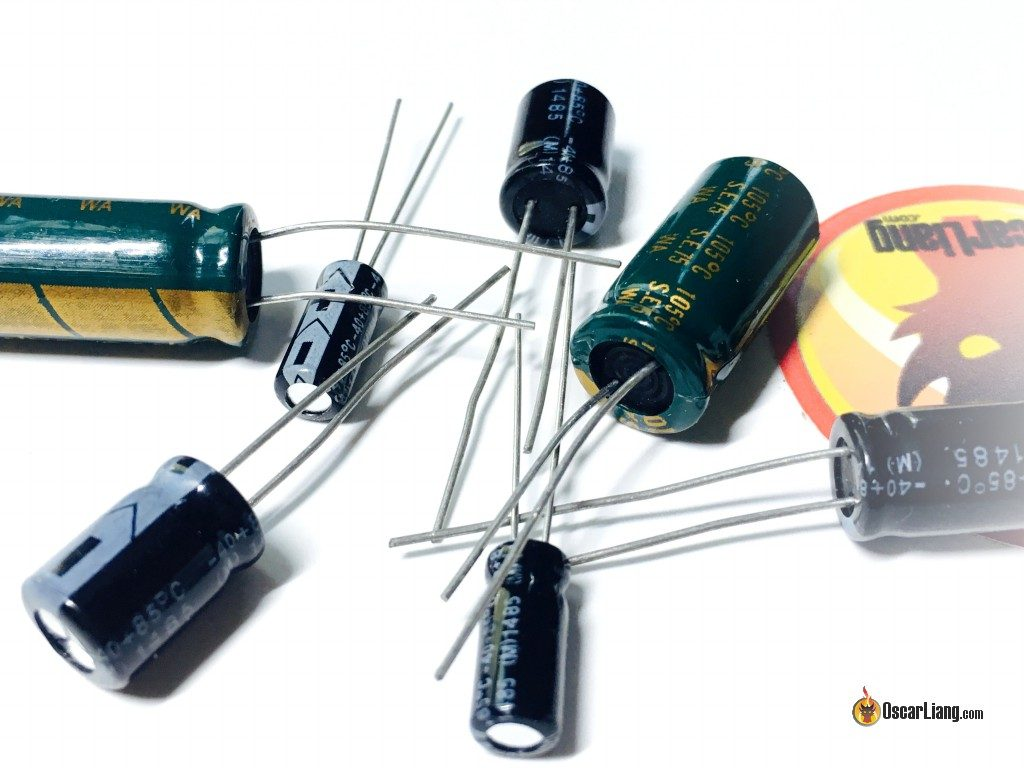hight resolution of capacitors for noise filtering in mini quad