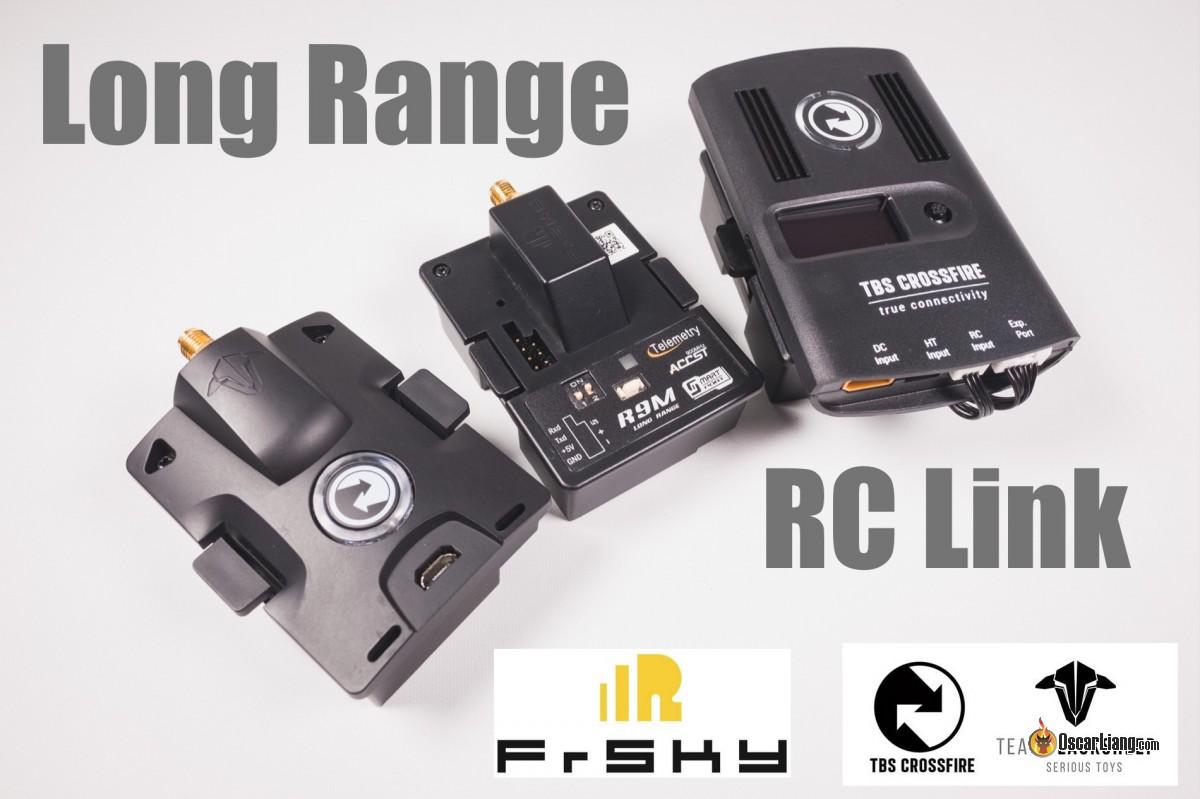 Mini Quad Long Range RC Options: TBS Crossfire & FrSky R9M