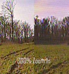 however when i zoom in it s pretty clear that the micro swift 3 fpv camera has much better sharpness and image detail over the version 2  [ 1200 x 675 Pixel ]