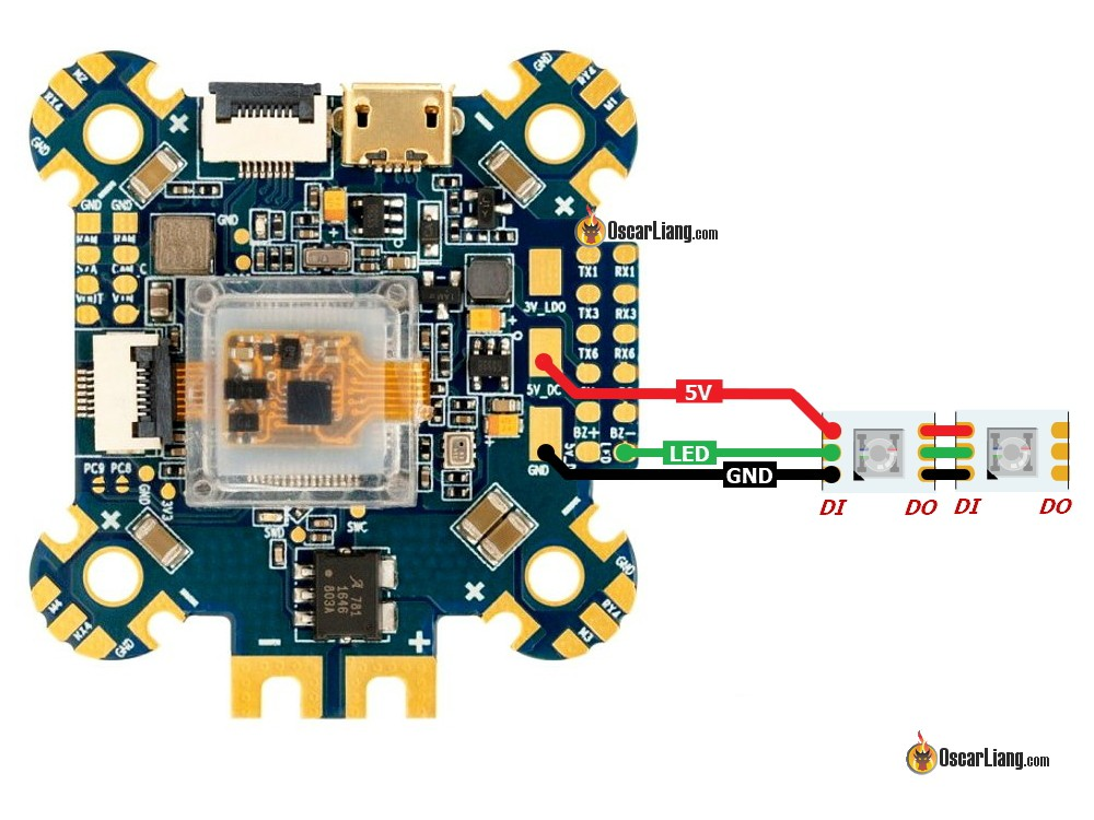 Rgb Led Fashion Lighting Controller Circuit Schematic Circuits
