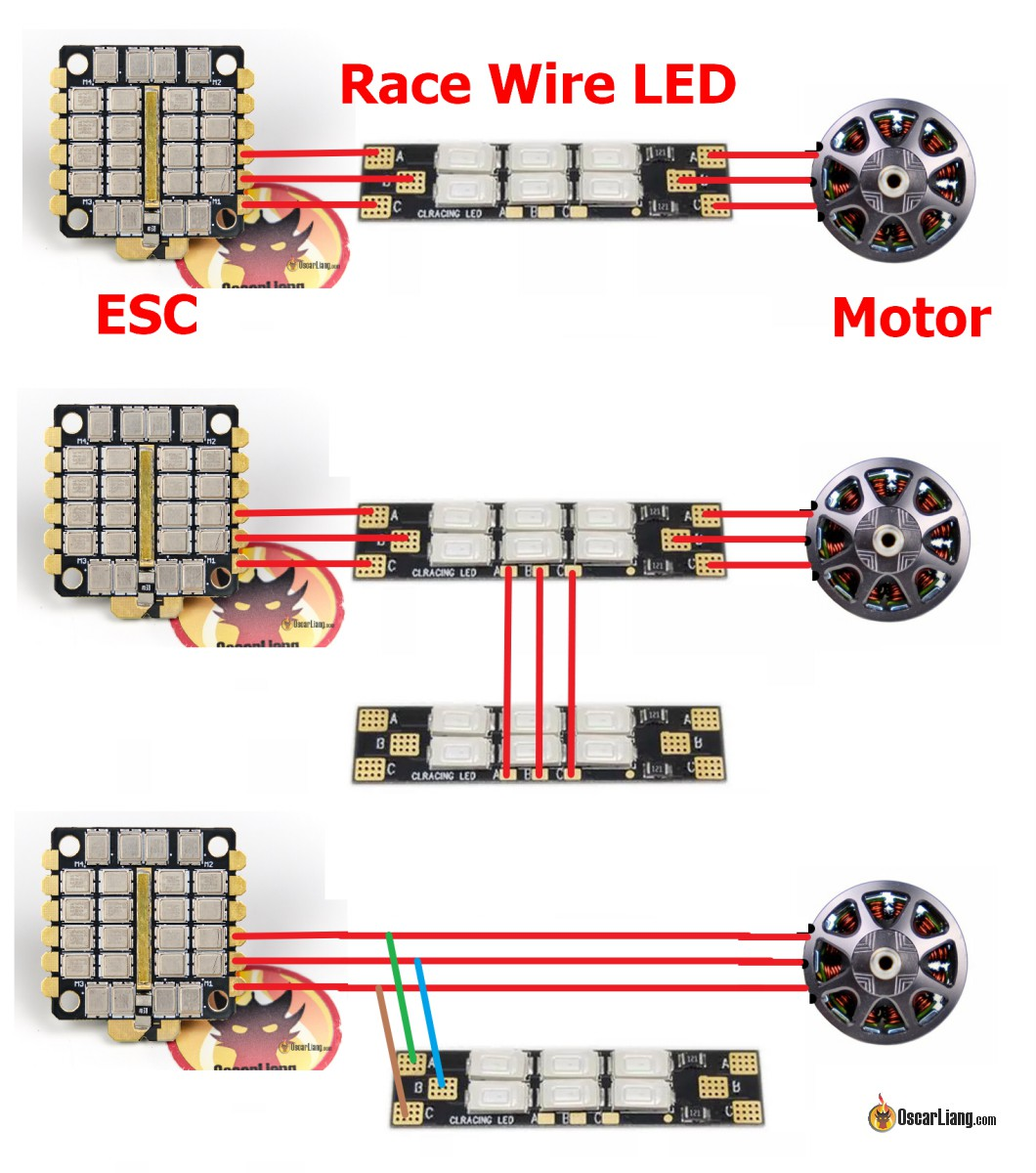 hight resolution of the cool things about these motor wire powered led boards are that you don t need any additional voltage regulators and they are extremely flexible when it