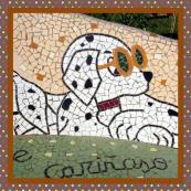 160 Mosaikbänke (Detail)