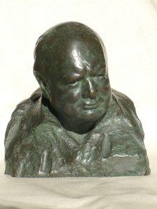 ONC935 - Wartime Leader (Bronze Resin and Verdigris)