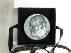 Paperweight Bronze Resin Relief [ONF921]