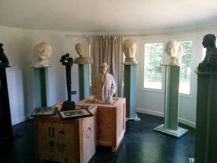 Busts by Nemon at Pleasant Land Studios