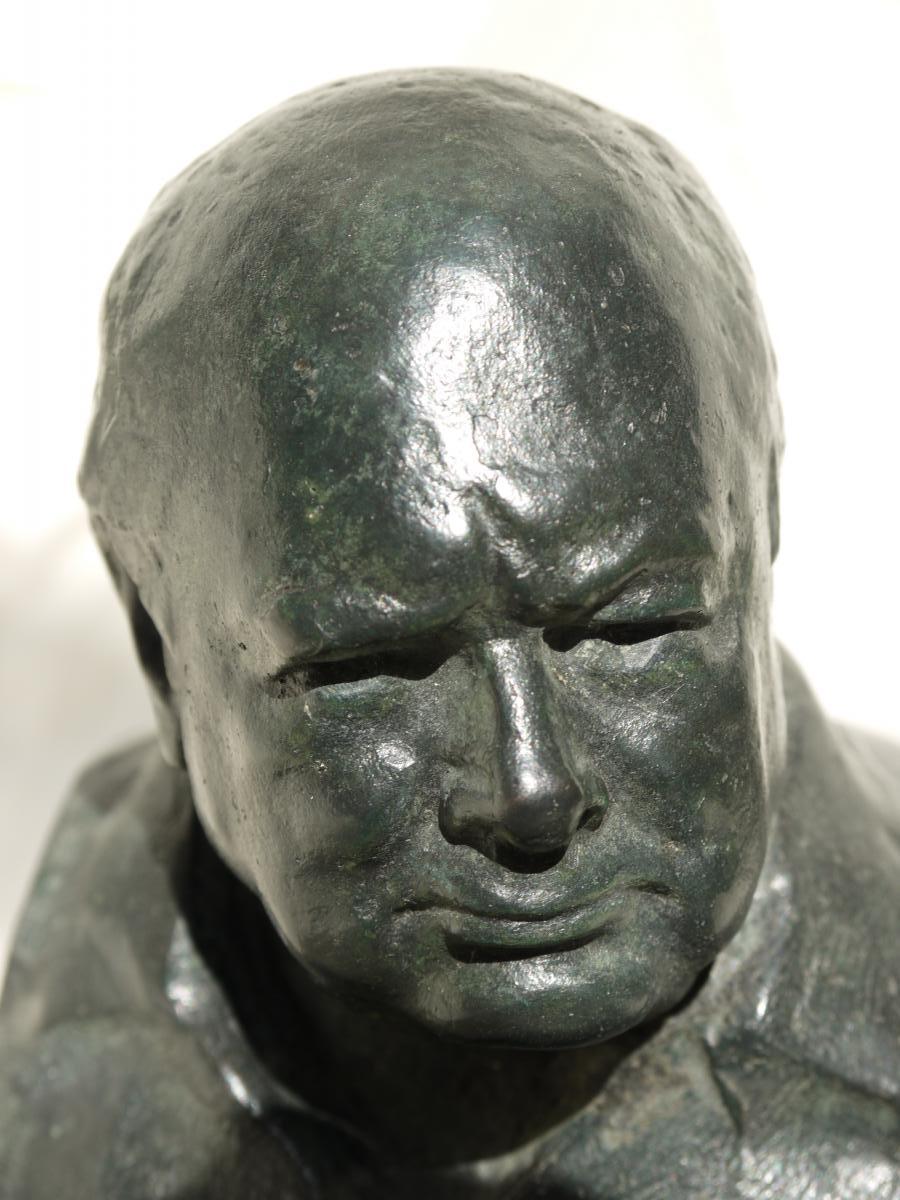 WSC bronze head on