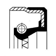 Bague d'étanchéité, différentiel MERCEDES-BENZ Vito (638