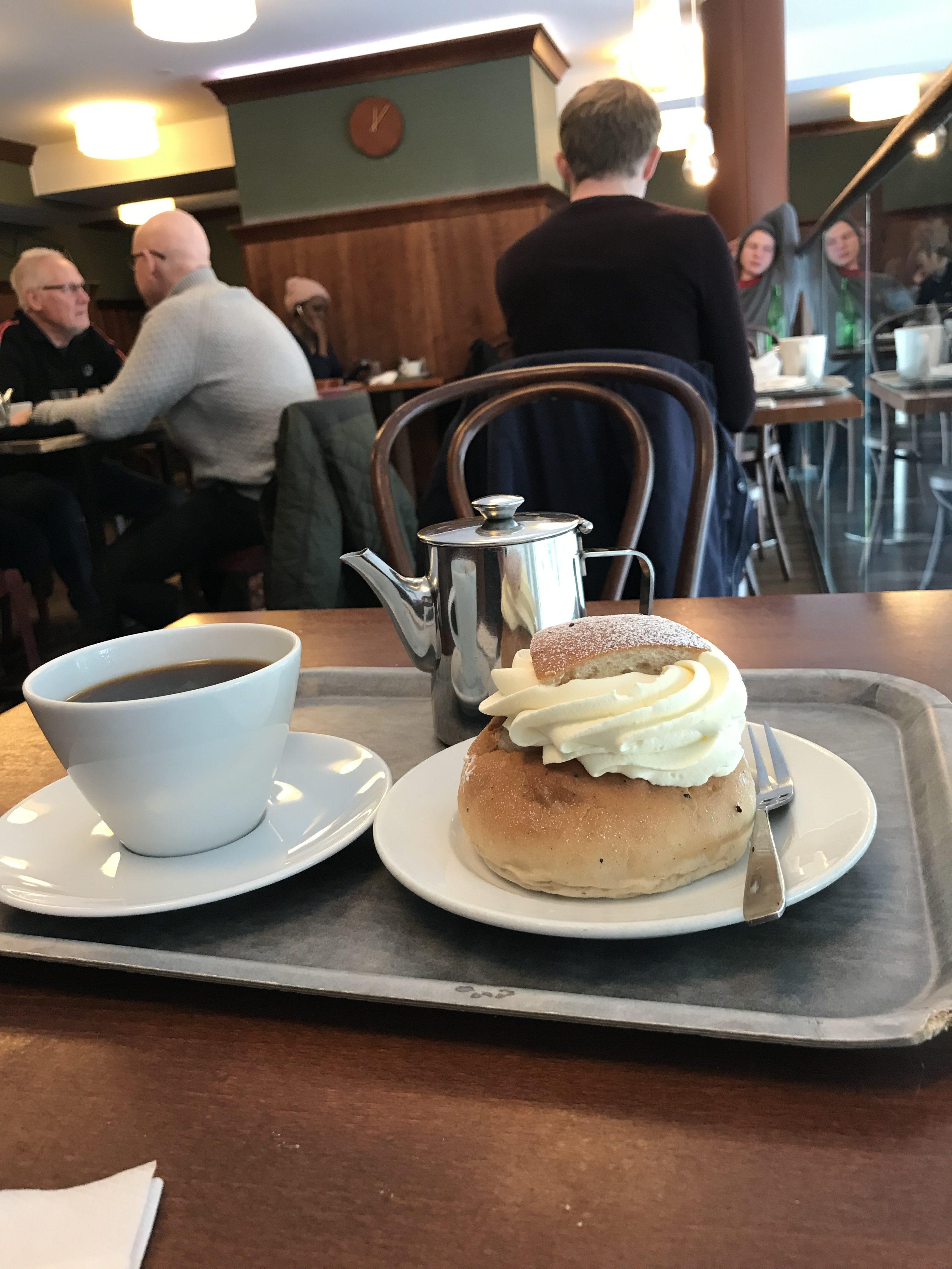 Semlor på Åsö Konditori och bageri
