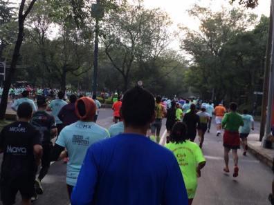 25,000 corredores inscritos a esta carrera.