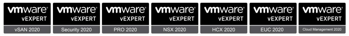 vExpert Sub Programs