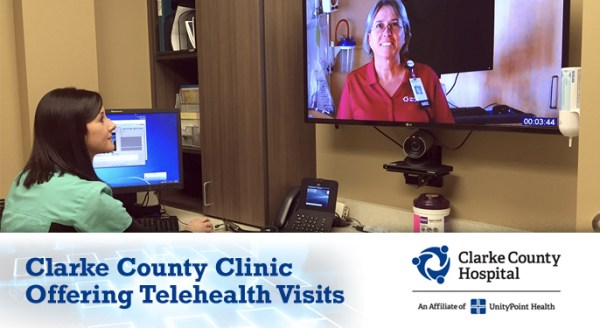 telehealth in clarke county iowa
